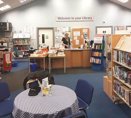 Inside Ratby Library