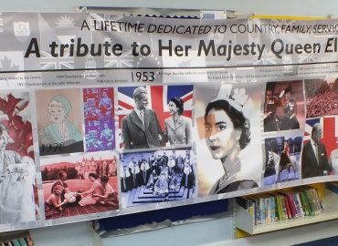 Queens 90th Birthday Banner