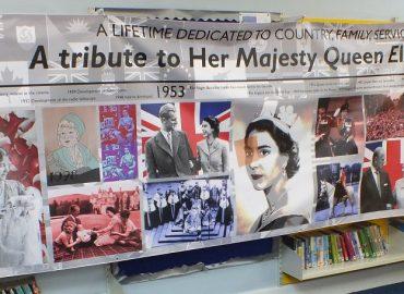 Queens 90th Birthday Banner