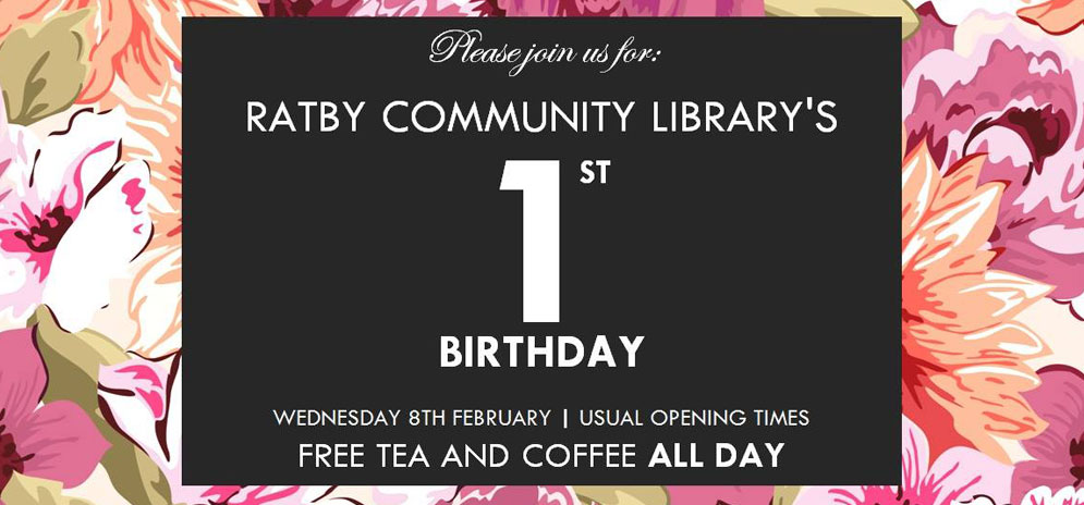 Ratby Library First Anniversary